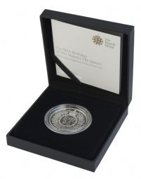 2016 Silver Proof £5 Coin - 90th Birthday